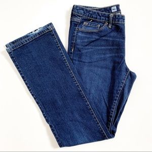 Mossimo Mid-Rise Modern Bootcut Dark Wash Jeans